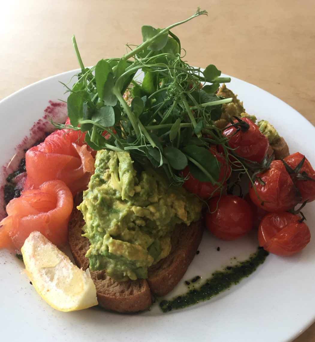 starfish and coffee brighton brunch review