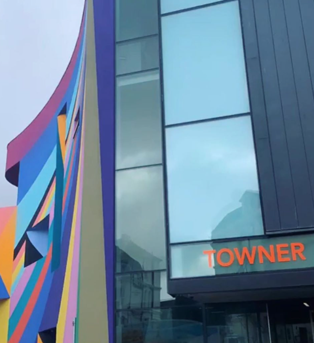 towner gallery eastbourne exterior
